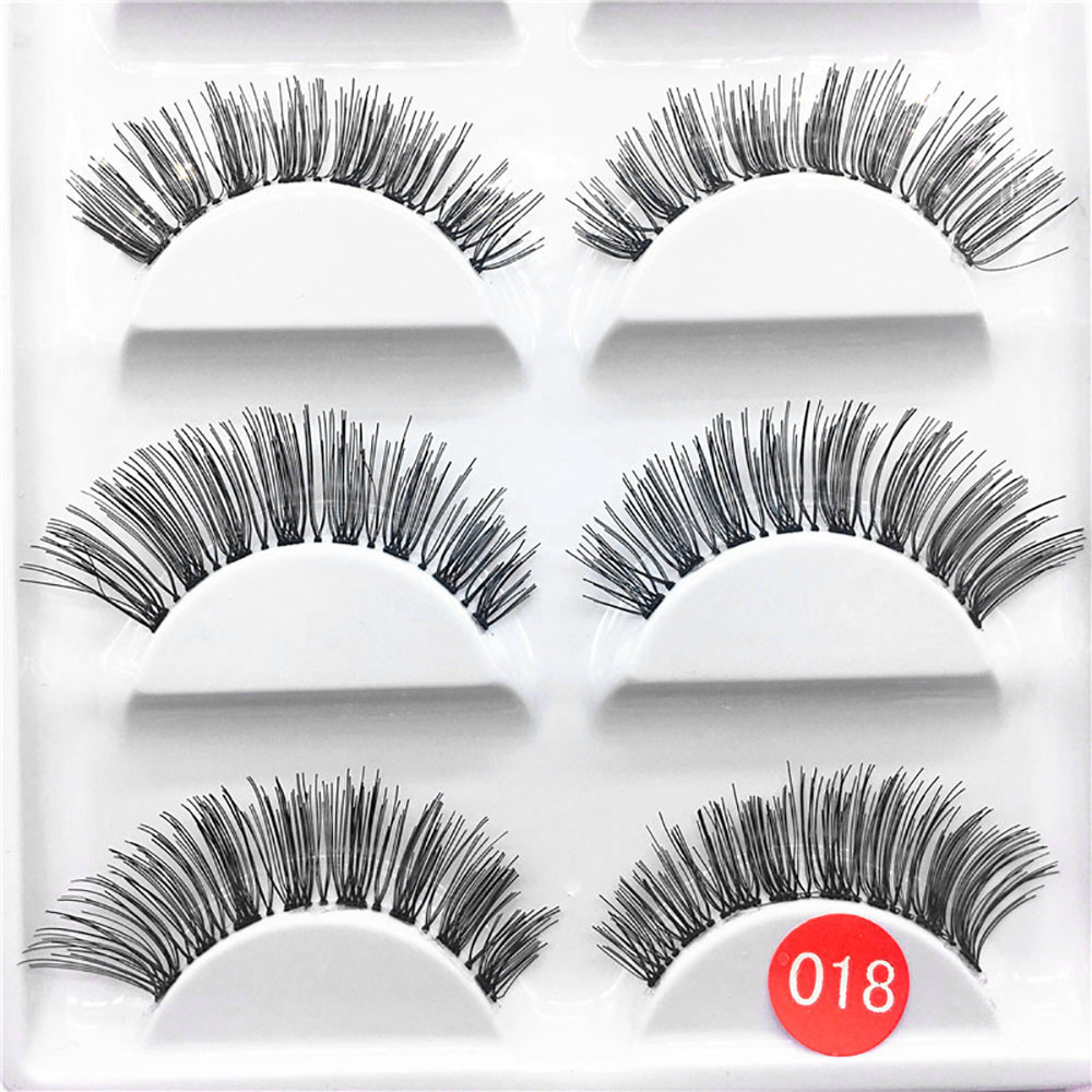 Ladies Eyelash Extension 5pair Luxury 3d False Lashes Fluffy Strip Eyelashes Long Natural Party L525 Fixing Prices According To Quality Of Products False Eyelashes Beauty Essentials