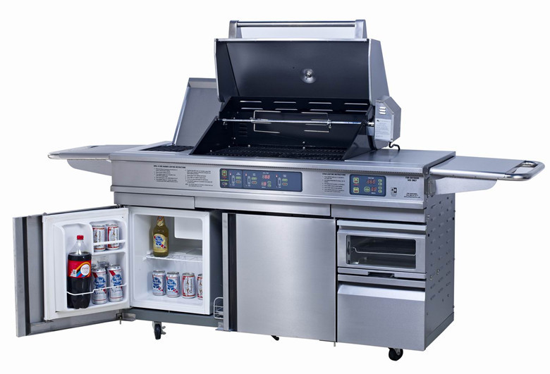 Exported to europe and america stainless steel gas bbq