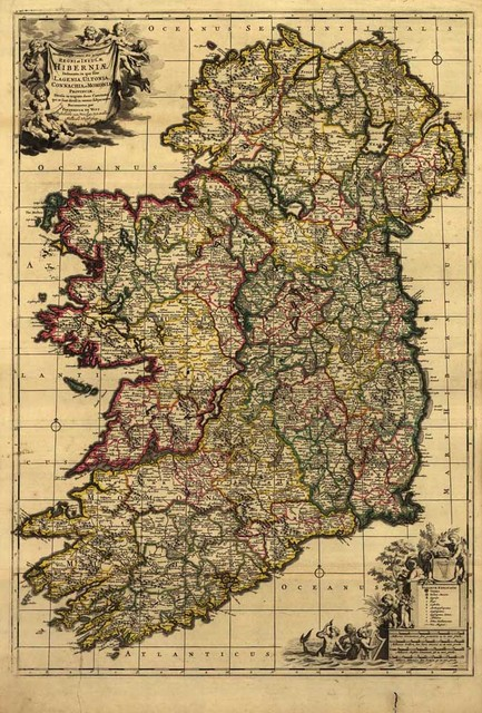 Hd vintage ireland map oil painting print on canvas retro wallpaper hd vintage ireland map oil painting print on canvas retro wallpaper living room cuadros decoracion wall gumiabroncs Gallery