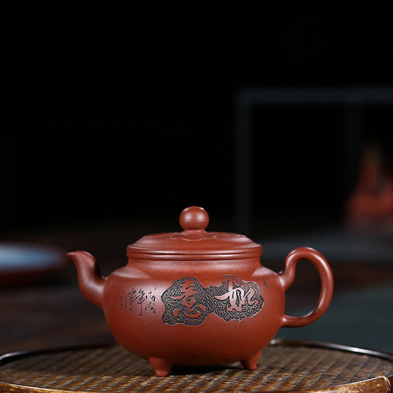 Famous Full Manual Raw Ore Purple Ink For Imprinting Of Seals Will Mr. As One Wishes Kettle Kungfu Online Teapot Tea Set GiftFamous Full Manual Raw Ore Purple Ink For Imprinting Of Seals Will Mr. As One Wishes Kettle Kungfu Online Teapot Tea Set Gift