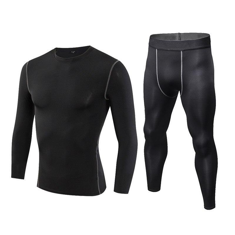 0-Компрессионный спортивный комплект из 2 предметов, летняя быстросохнущая дышащая Спортивная одежда для бега для мужчин, спортивная одежда ... смотреть на Алиэкспресс Иркутск в рублях