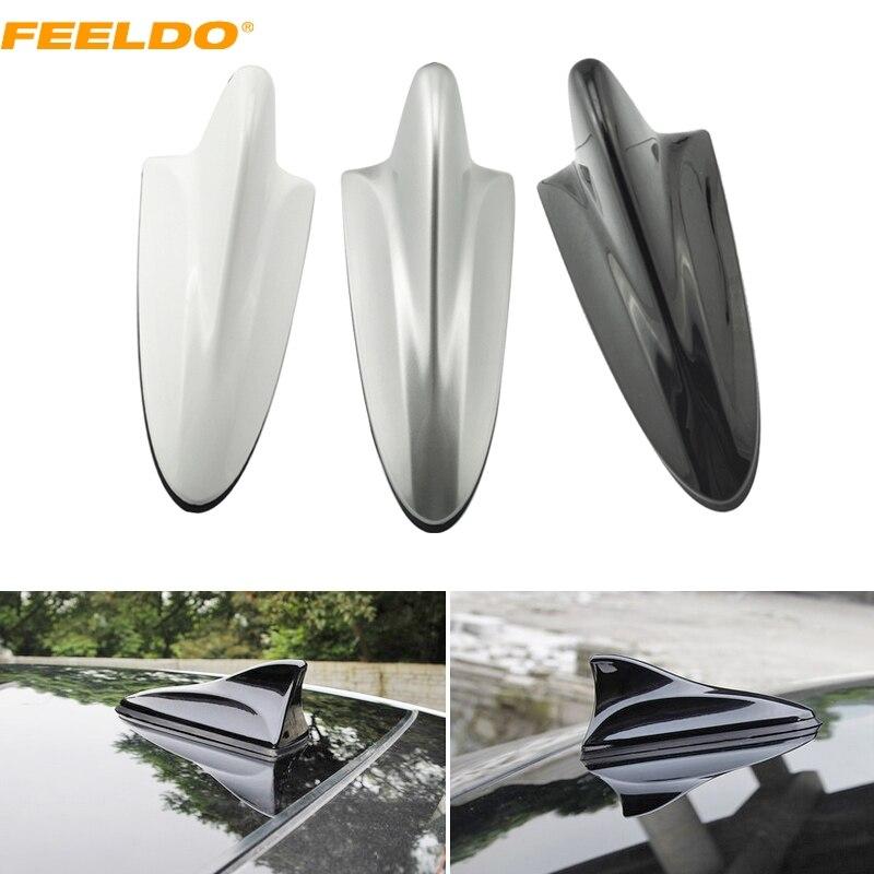FEELDO רכב אוטומטי 3in1 כריש סנפיר F מחבר 3.5 - אלקטרוניקה לרכב