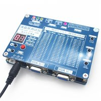 Панель тестер, LED ЖК дисплей Экран тестер инструмент для ТВ ремонт ноутбуков со встроенным 55 видов LVDS Экран разрешения Поддержка 7 84