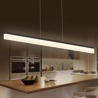 Chandelierrec интернет современный светодио дный подвесные светильники для столовой Кухня зал Бар висит подвесной светильник AC85 265V подвесной све