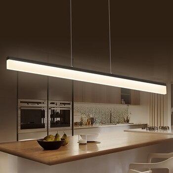 Chandelierrec en línea moderno LED colgante luces para Comedor ...