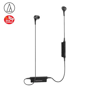 Original Audio Technica ATH-CK200BT Bluetooth Earphone Wireless Sports earphone Compatible With IOS Android Huawei Xiaomi Oppo