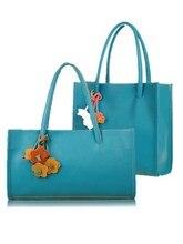 Free shipping new female bag sweet flower pendant retro handbag commuter shoulder bag famous brands designer  women large bags