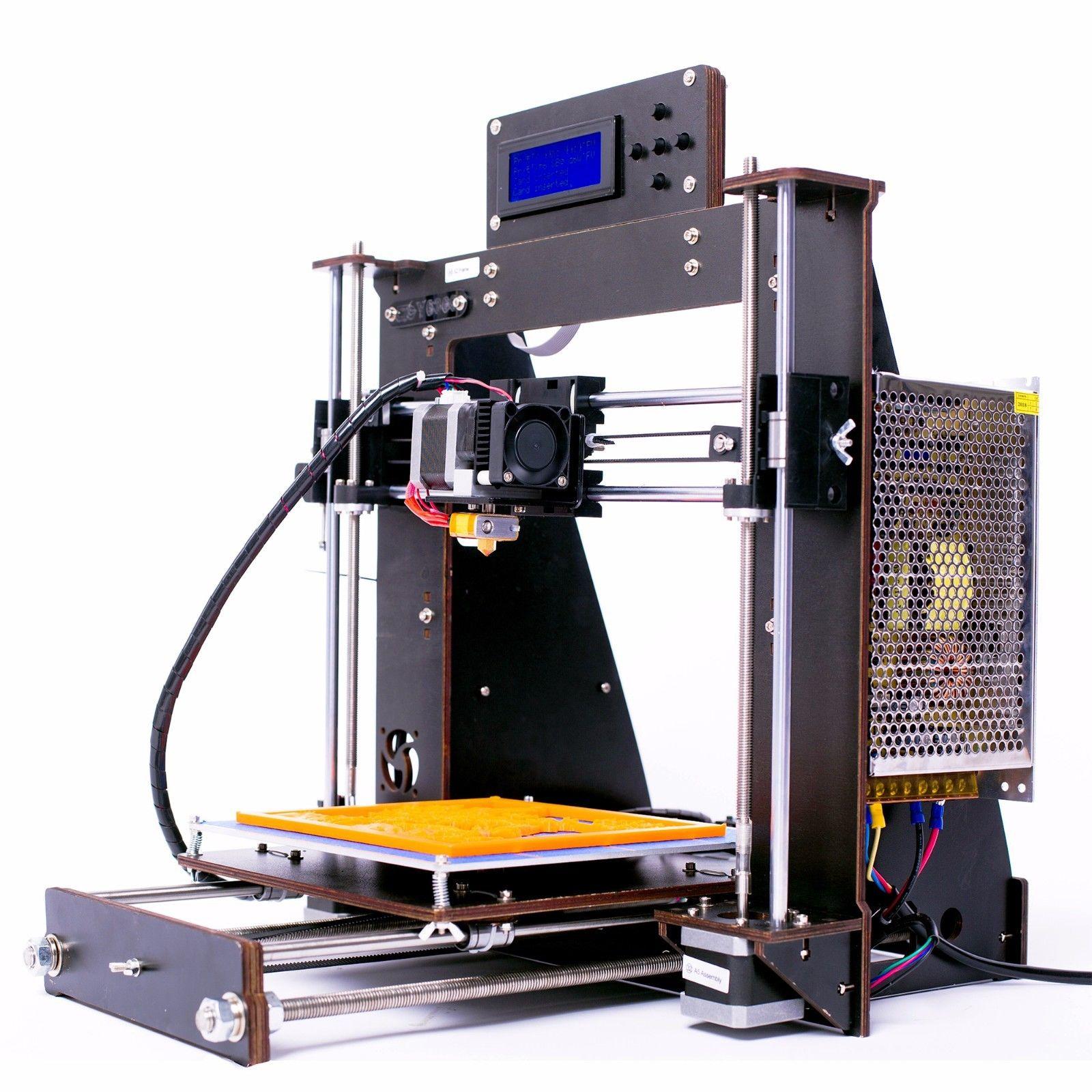 DE Lager 3D Drucker DIY i3 Upgradest Hohe Präzision Reprap Prusa 3d Drucker Stromausfall Lebenslauf Druck