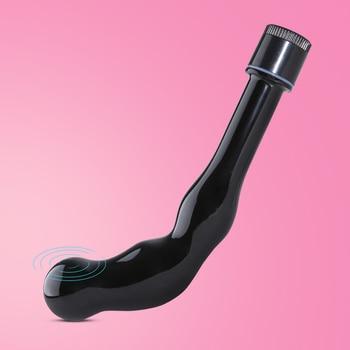цена на Vibrating Prostate Massager for Man, Men Women Anal Butt Plug Anal Butt Anus G Spot Vibrator Male Masturbato Adult Sex Toys Gay