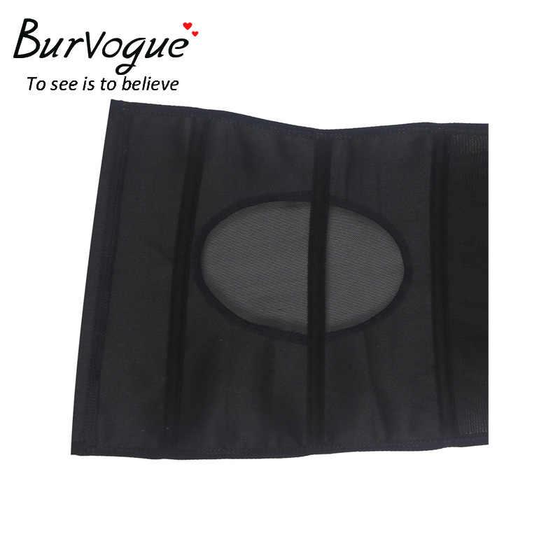 Burvogue новый атласный корсет для талии корсет для похудения Пояс корректирующий пояс с спинкой 3 крючка и глаза сексуальное бюстье и корсеты для женщин
