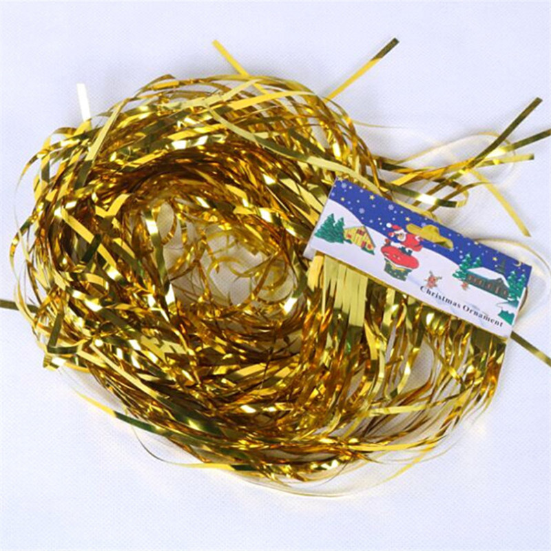 Image 2 - 5pcs Foil Tassel DIY Foil Fringe Tinsel Curtain Tassel Garland Ribbon Balloons Baby Shower Birthdays Party Wedding Decorations-in Ballons & Accessories from Home & Garden