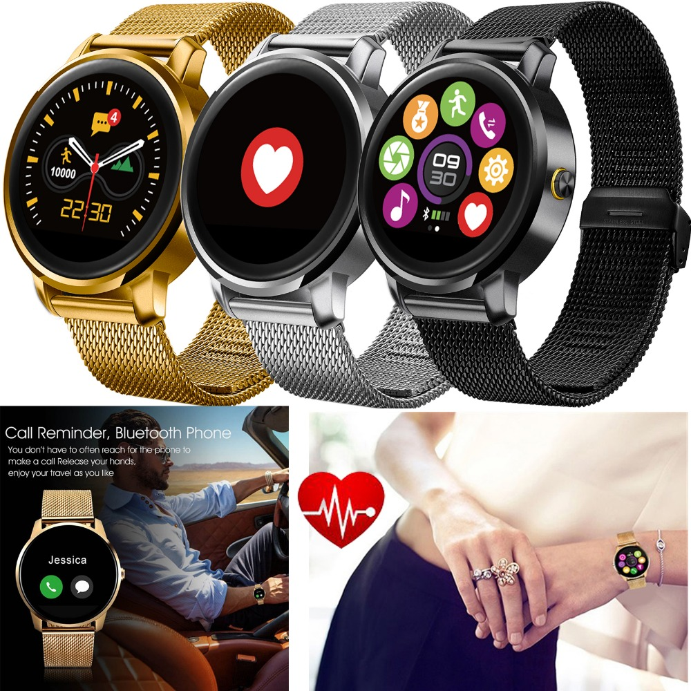 Bluetooth Smart Watch Heart Rate Monitor Man Woman Boys Girls Wristwatch For Apple iPhone Android Samsung Motorola LG HTC Huawei health monitoring bluetooth sync children s adults smart watch phone for iphone samsung huawei lg htc xiaomi so on smartphone