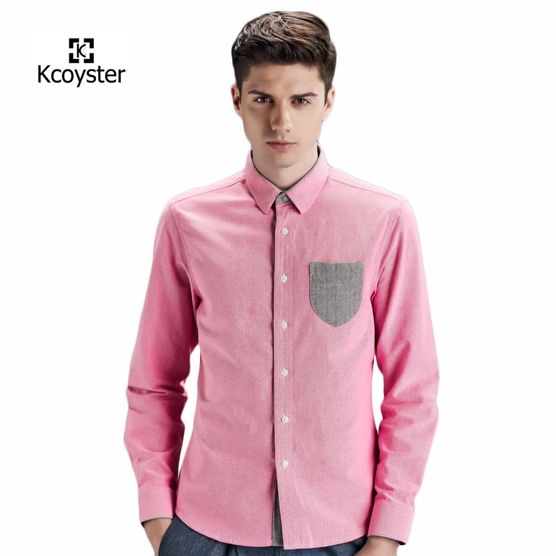 Online buy wholesale pink oxford shirt from china pink for Pink oxford shirt men