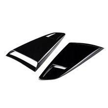 1 пара боковое окно автомобиля четверть заднего жалюзи ковш боковой вентиляционный колпак воздухозаборника отделка для Ford Mustang 2 двери- модель купе