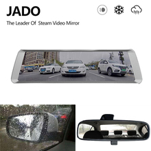 JADO D820 Car Dvr Stream RearView Mirror dash Camera avtoregistrator 10 IPS Touch Screen Full HD 1080P Car Recorder dashcam