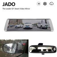 JADO D820S Car Dvr Steam Rearview Mirror Camera 10 IPS Touch Screen Full HD 1080P Car