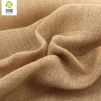 ShuanShuo #4040 tela de yute bolsa de tela de lino en la mano de bricolaje de trabajo bolsas de almacenamiento de la decoración de la Navidad de 160*50 cm