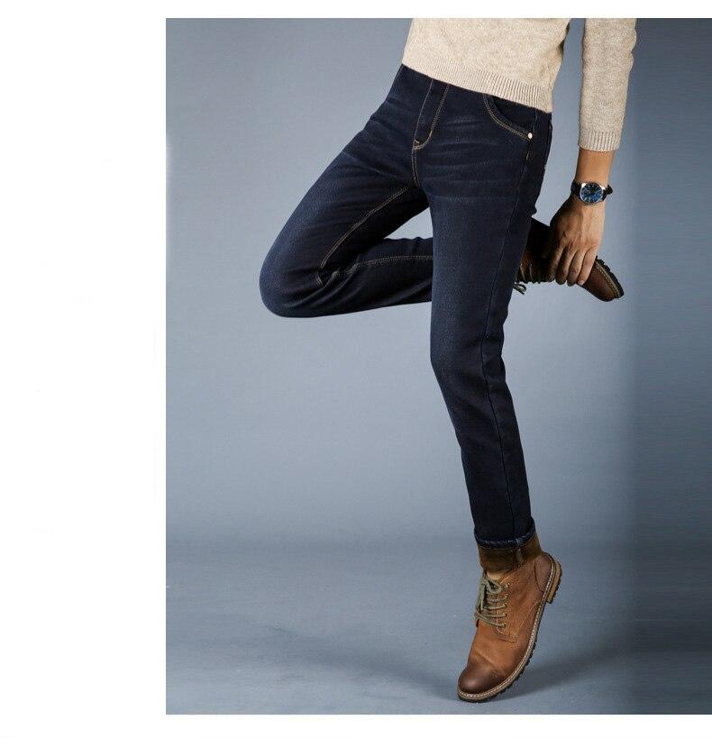 Warm Soft Jeans for Men 3