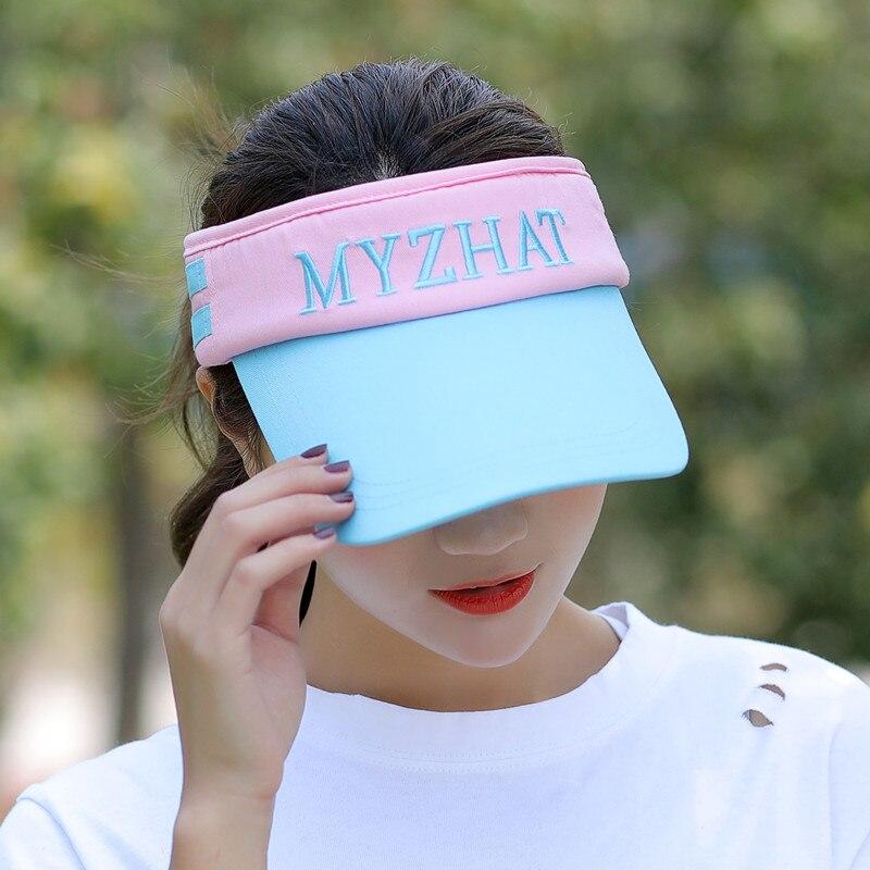 Kagenmo летняя Мужская Женская теннисная кепка без короны солнцезащитная Кепка бейсболка с козырьком - Цвет: M