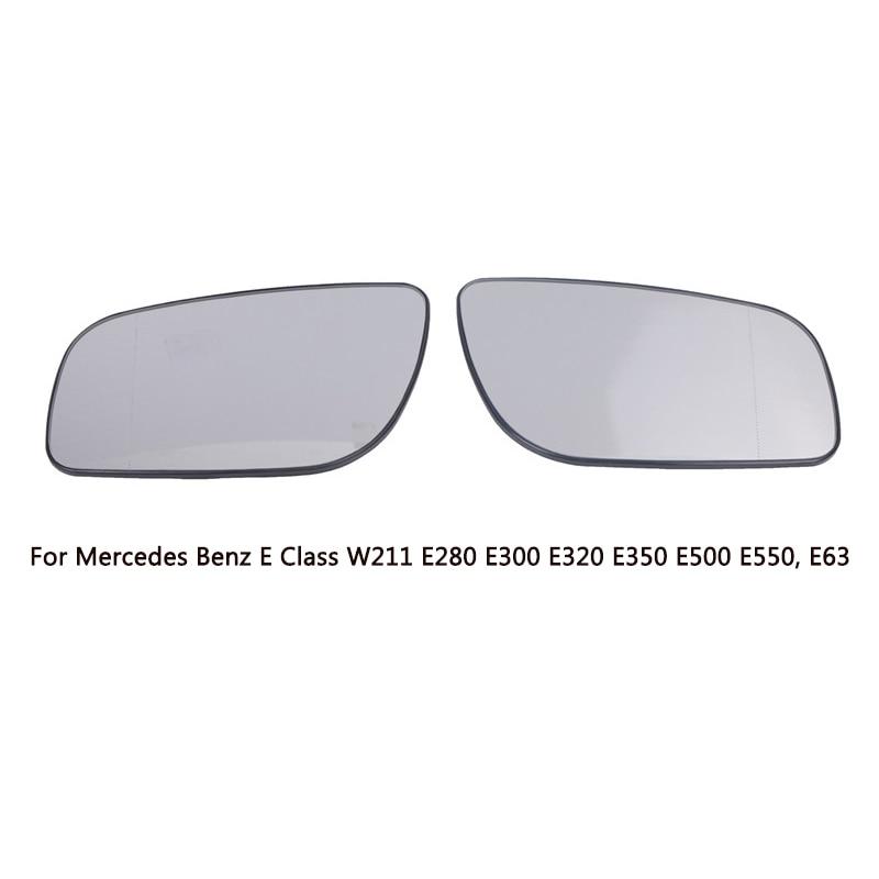 Mercedes E Class W211 2006-2009 Wing Mirror Glass N//S Passenger Side Left