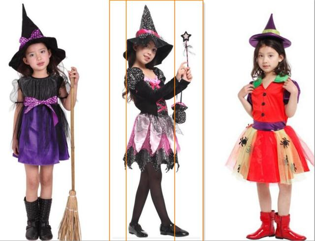 best selling Arrival Halloween Party Children Kids Cosplay Witch Costume For Girls Halloween Costume Party Witch  sc 1 st  AliExpress.com & best selling Arrival Halloween Party Children Kids Cosplay Witch ...
