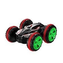 Eboyu (TM) stunt car 2.4 ГГц 4WD RC автомобилей Лодка 6ch Дистанционное управление амфибия off road Электрический Race Двусторонняя автомобилей бак автомобиля