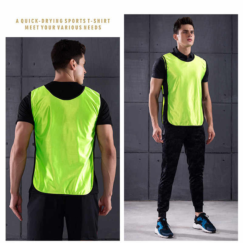 658f9155caf6 ... Onedoyee 5pcs Kids Children Team Training Scrimmage Vests Soccer  Basketball Team Vest Pinnies Jerseys Child Training