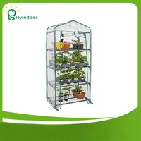 Garden Supplies Agriculture Greenhouse PVC Scree MINI Greenhouse Sunroom For Gardening Plants
