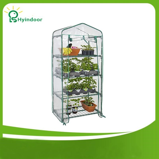 Hyindoor Garden Supplies Agriculture Greenhouse PVC Scree MINI ...