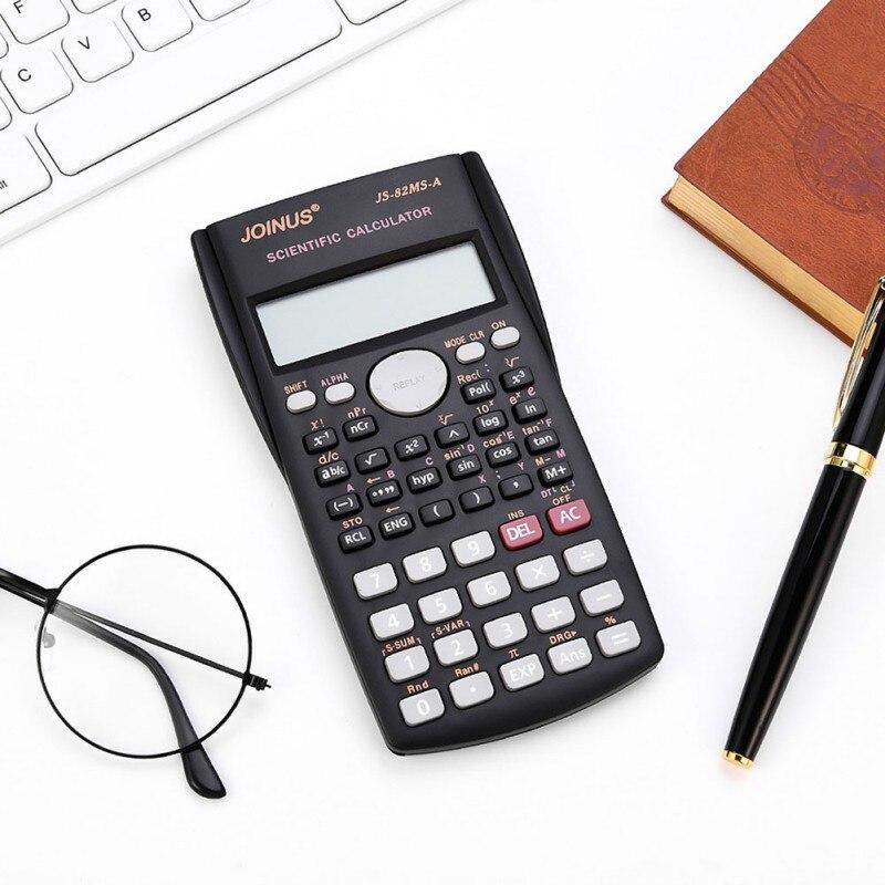 JOINUS Student Calculator Scientific Calculator Advanced Math Function Calculator Multifunction 12 Bit Calculator with cover in Calculators from Computer Office