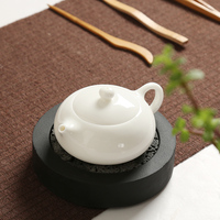 White porcelain teapot Dehua jade porcelain teapot pottery single pot Kung Fu teapot with filter porcelain pot