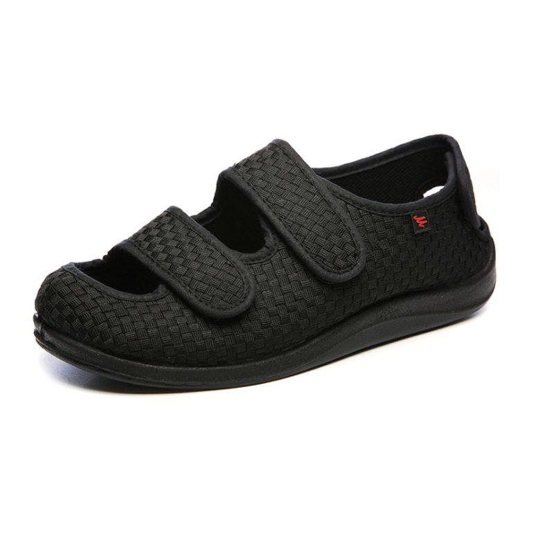 Summer Men's Or Women's Comfortable Diabetic Shoes Foot Enlargement Code Magic Stick Overturns Middle-aged And Elderly Sandals