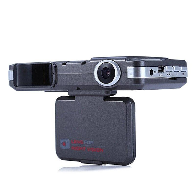 2 en 1 360 degrés Auto détecteurs de Radar caméra HD Dash Cam g-sensor sécurité Anti-Police contrôle de vitesse véhicule Radar détection