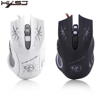 HXSJ Professional Gaming Mouse USB Wired Optical Lights Game Mouse For High End Players Game Gamer