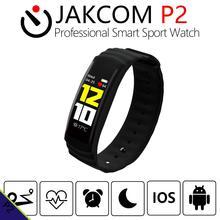 JAKCOM P2 Inteligente Profissional Relógio Do Esporte como Pulseiras de relógio de pulso pulseira banda conversa inteligente nfc