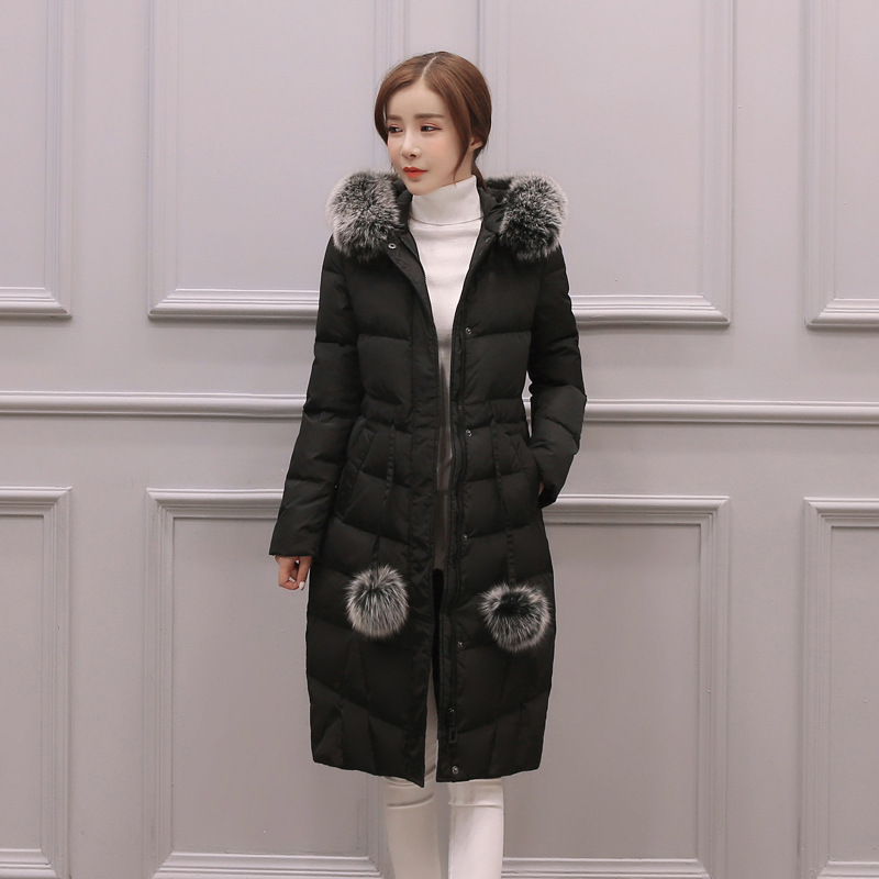 Loose and comfortable big yards long cotton-padded clothes girl comfortable warm hooded cotton-padded jacket coat 2015the new women s clothing han edition cotton padded clothes coat long big yards more loose tooling cotton padded jacket