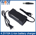4.2V10A Charger 1S 3.7V li-ion battery Charger Output DC 4.2V With cooling fan Free Shipping