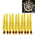 Auto Accessories 10 PCS Car Snow Tire Anti-skid Chains White Chains For Family Car High Quality
