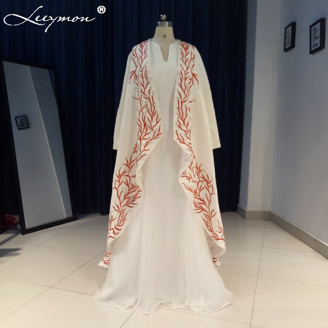 425d508732f Embroidery Arabic Moroccan Kaftan Long Cape Dress Turkish Women Evening  Gowns Long Sleeve Dubai Abaya Prom Dress Abendkleider