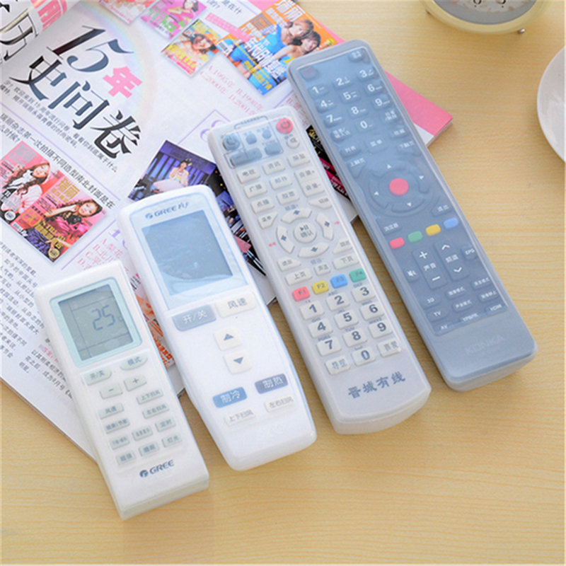 Best buy ) }}2 pc Remote Control Cover Silicone Transparent TV Remote