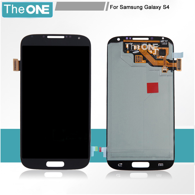 LCD Display Touch Screen Digitizer Assembly for Samsung Galaxy S4 i9500 i9505 i337 M919 i545 Blue Free Ship