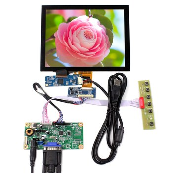 VS080TC-A1 Backlight WLED VGA LCD Controller Board RT2270C-A 8inch Capacitive Touch LCD Screen 1024x768 EJ080NA-04C