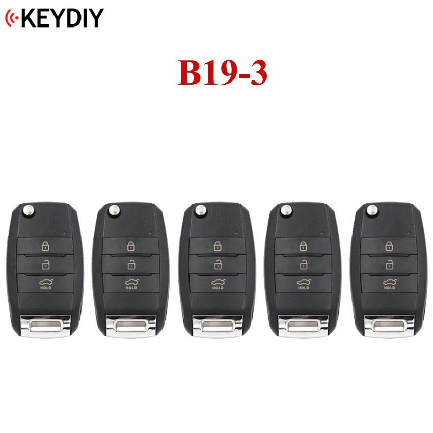 5 PCS 3 Buttons Universal Remote Control Key B Series for KD X2 KD MINI KD900