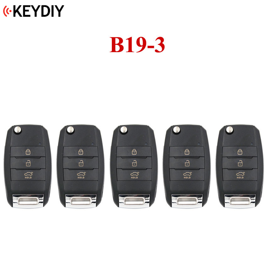 5 PCS, 3 Buttons Universal Remote Control Key B Series for KD X2 KD MINI KD900 KD900+,URG200 ,KEYDIY Remote for B19 3 K Style-in Locks & Hardware from Automobiles & Motorcycles    1