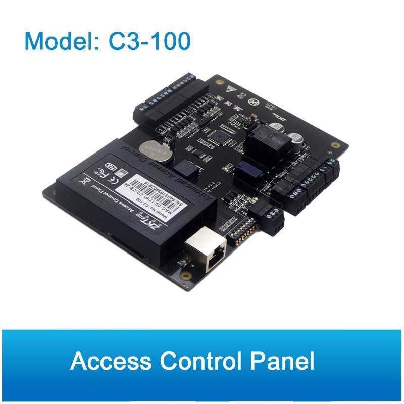 ZK C3 100 1 ドアセキュリティ IP ベースのアクセス制御 Tcp/Ip と RS485 通信高度なアクセスドアコントローラ  グループ上の セキュリティ & プロテクション からの アクセスコントロール キット の中 1