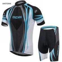 XINTOWN Men's Cycling Jersey Comfortable Ropa Ciclismo Bike/Bicycle Outdoor Shirt (BIB) Shorts Suits