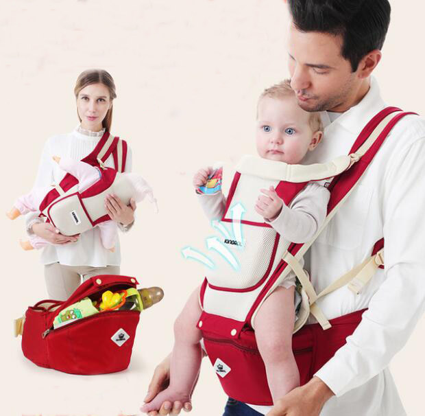 Newborn 0-30 Months Breathable Comfortable Babies kids Carrier Infant Backpack Baby Hip Seat Multi Waist Stool