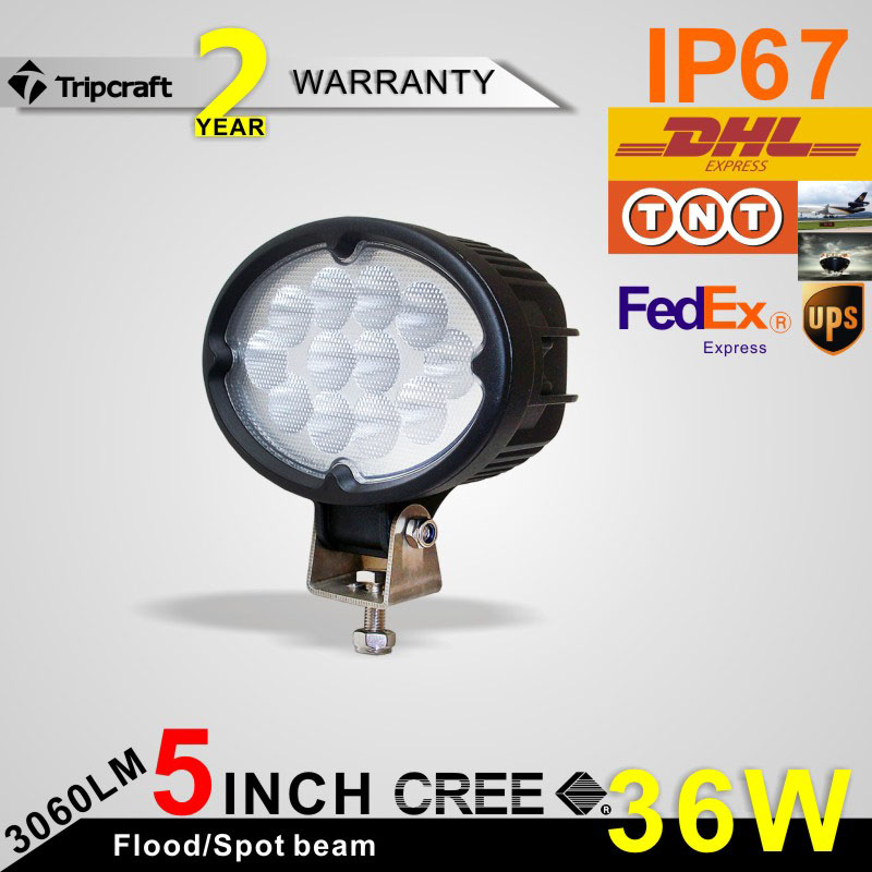 ФОТО Free shipping!!!6 inch 36W LED Work Light Lamp Fit led ramp car accessories Off Road 4WD 4x4 Truck SUV ATV 10V 30V fog light