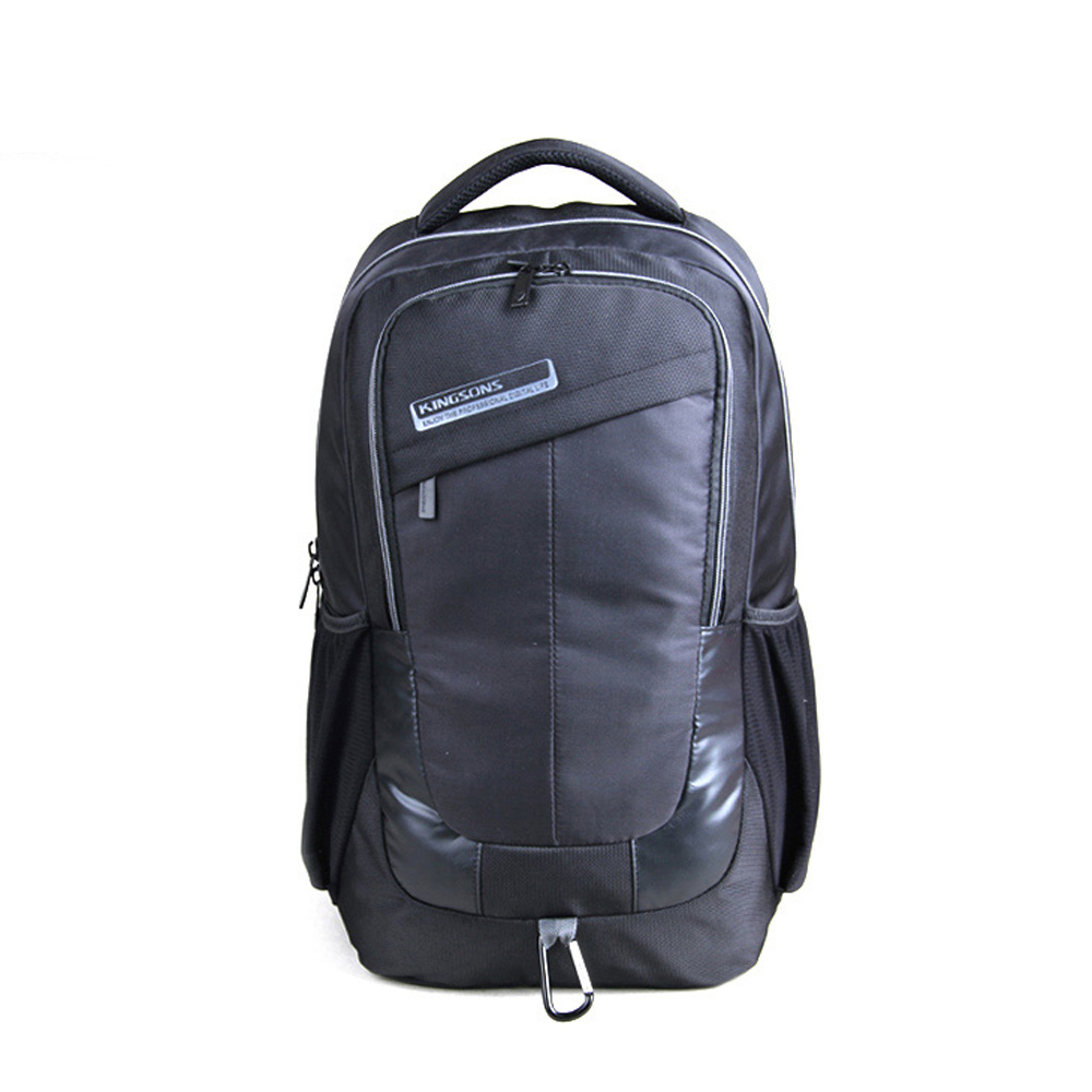 ФОТО High Quality Waterproof Nylon Backpack Unisex Large Capacity Bag for12 to15.6 Inch Laptop School Travel Business Daypack Pouch