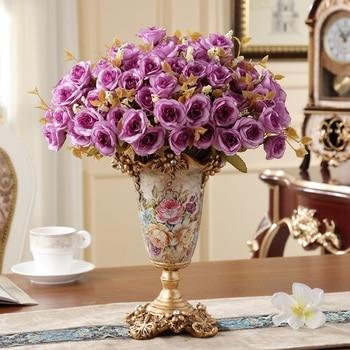 European Vintage vase living room dining room home decoration floral arrangement flower arranging